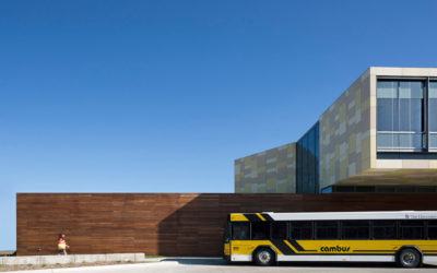 UI West Campus Transit Center
