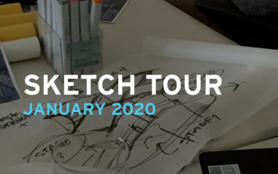 Sketch Tour: January 2020