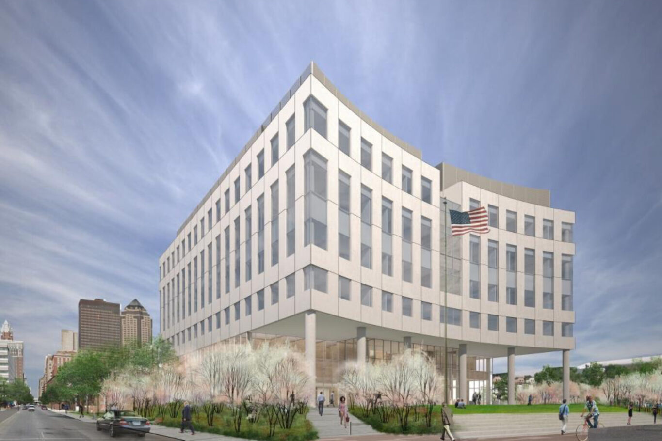 Des Moines Federal Courthouse rendering