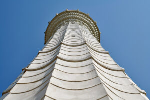 minaret at the Islamic and Cultural Center Bosniak of Des Moines